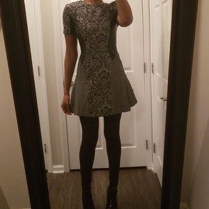 Classy Tunic/Dress Leather PanelsWalter Baker